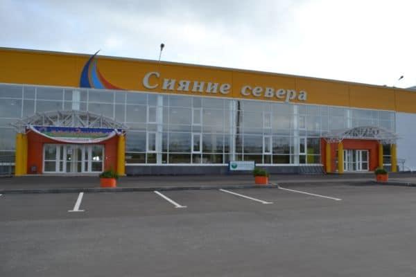 Ледовый дворец «Сияние Севера». Фото: leddvorez-pechora.ru