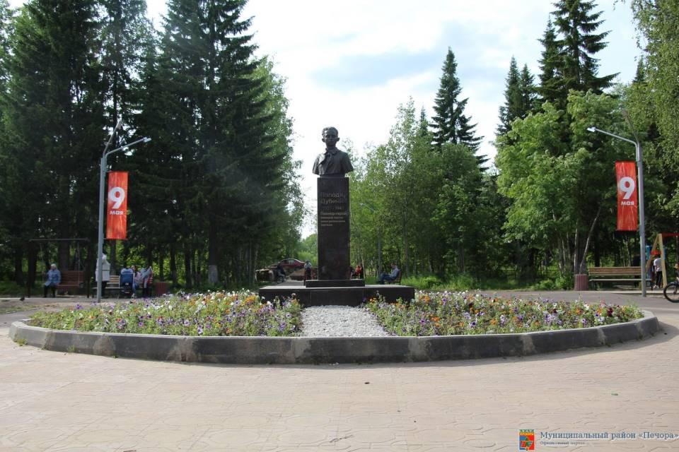 Памятник Володе Дубинину. Фото администрации Муниципального района «Печора»