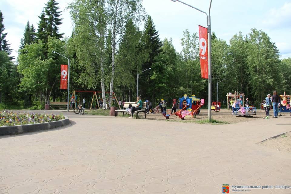Парк Дубинина. Фото администрации Муниципального района «Печора»
