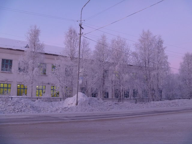 Школа №49, г. Печора. Фото: ok.ru/group/56152504074272