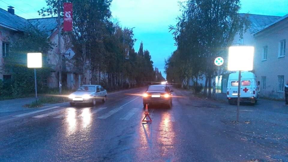 ДТП в Печоре - пешеход сбит на переходе