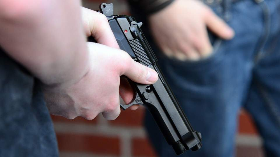 Пистолет. Оружие