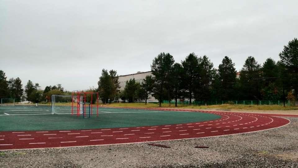 Школьный стадион в Печоре. Фото: https://vk.com/wall-48293308_24567