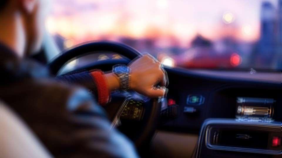 За рулём авто. Пьяное вождение