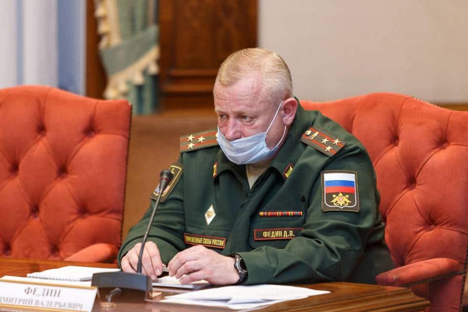 Военный комиссар Республики Коми Дмитрий Федин. Фото rkomi.ru